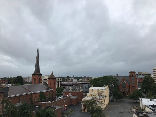 Heavy rainfall is predicted in the Poughkeepsie area Wednesday.