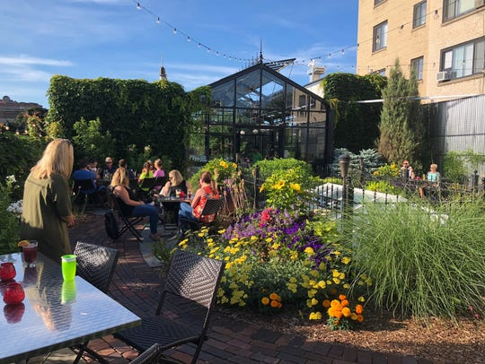 The Atrium in Shorewood opens its rooftop garden, called