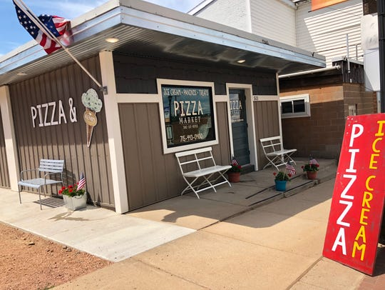 Pizza Market opened in downtown Marathon City on June 1, and has a focus on fresh, quality food for the community.