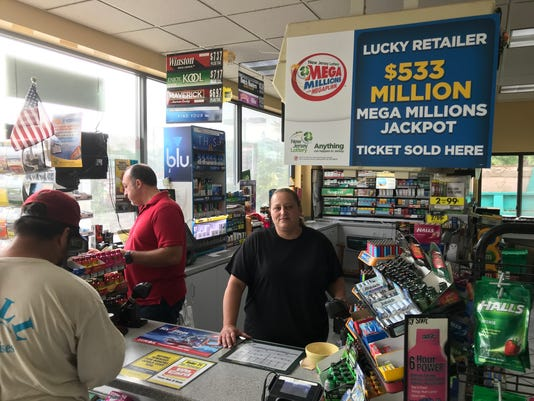 Riverdale gas station - lottery