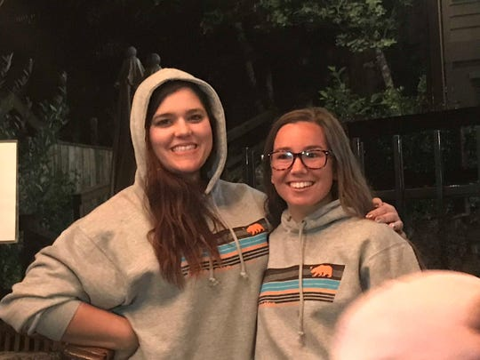 Mollie Tibbetts, right, has been missing since July