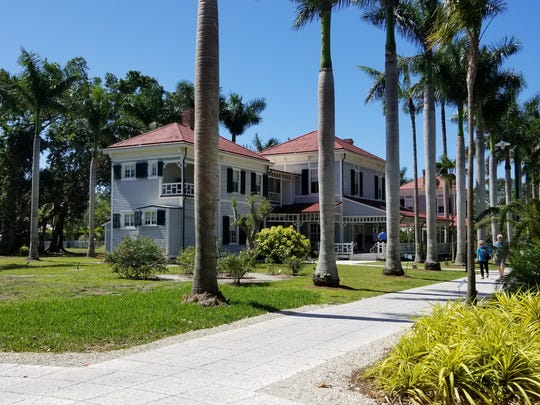 The Edison & Ford Winter Estates in Fort Myers, Fla.