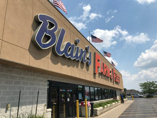 Blain's Farm & Fleet on Kossow Road in Waukesha had