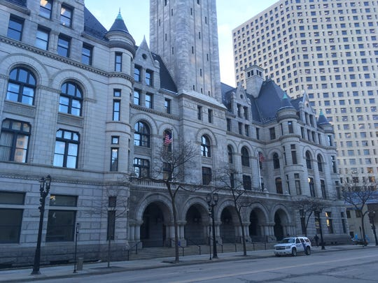 The federal courthouse in Milwaukee.