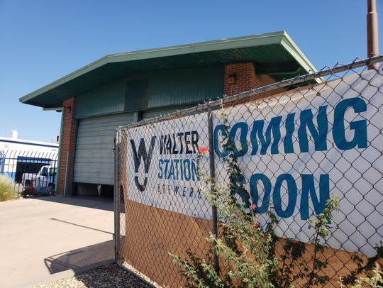 Walter Station Brewery is slated to open near the end