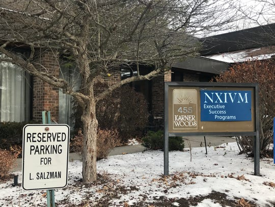 NXIVM's headquarters in Colonie, New York, on Dec.