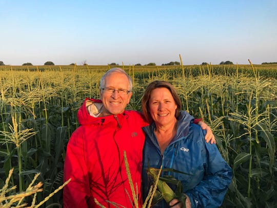 Bill and Muriel Stoneman have been selling sweet corn