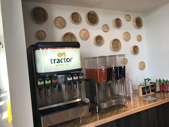 Soft drinks at Dumpling Darling are provided by Tactor