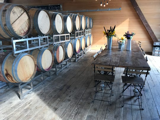 Ravines Wine Cellars, at 400 Barracks Road in Geneva, is in a beautiful historic barn near Seneca Lake. The winery also has a tasting room on Keuka Lake.