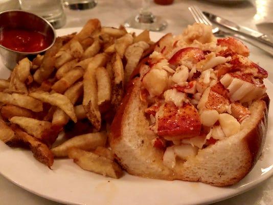 Neptune Oyster lobster roll