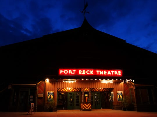 Opening night of a new show at the Fort Peck Summer Theatre.