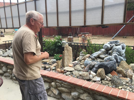 Pinyon Pines resident Jimmy Viglione uses sound from