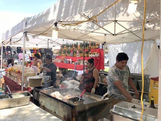 Food vendors fared well during the third annual Luna