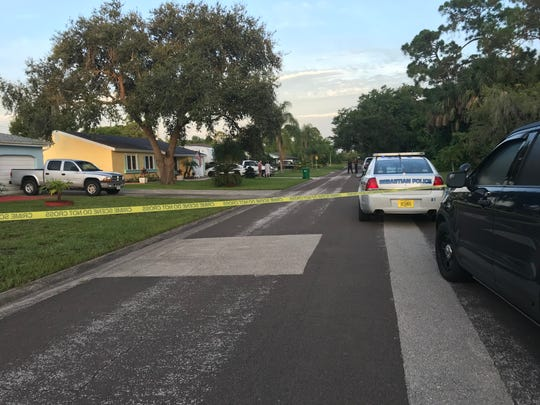 Emergency personnel responded to a report of a shooting on Kildare Drive in Sebastian early July 31, 2018.