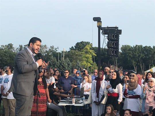 Abdul El-Sayed, 33, a Democratic candidate for Michigan