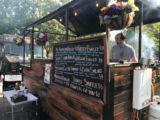 Nomad Street Cuisine serves up a number of specialty