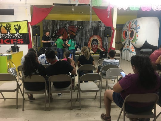 Residents from all over the Coachella Valley came to RAICES Cultura in Coachella on Friday to seek assistance with citizenship, DACA renewal and financial aid applications.