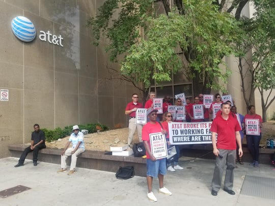 Communications Workers of America ratified deals this week with AT&T Inc. following campaigns over the past 14 months condemning the company for closing call centers in the United States.
