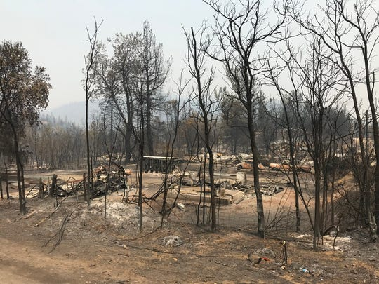 Nearly every home in the small community of Keswick proper was destroyed in the Carr Fire.