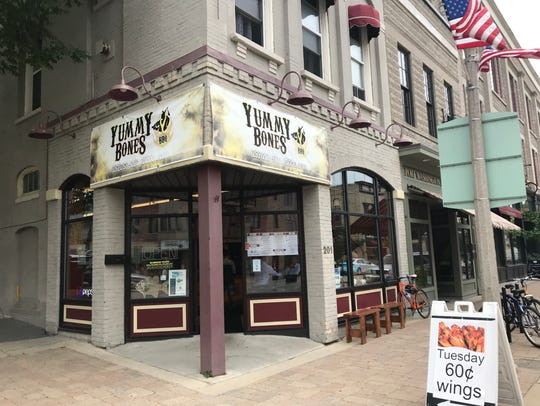 Yummy Bones moved to its current location on North Franklin Street in June 2016.