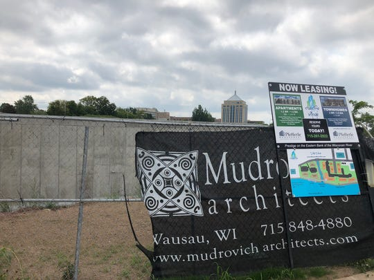 Construction on the Riverlife development has been stalled since March 2018.