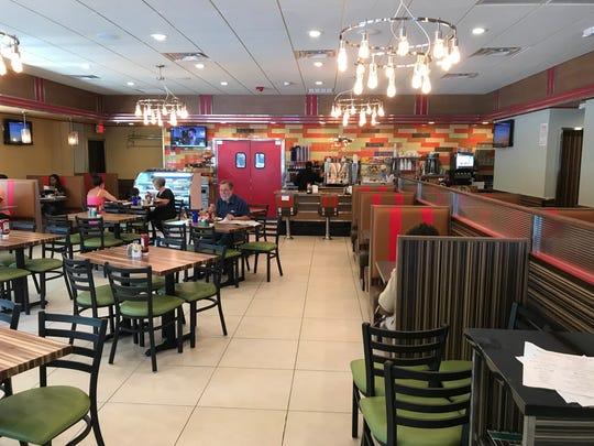 The interior of Retro 520 Diner in Mount Vernon.