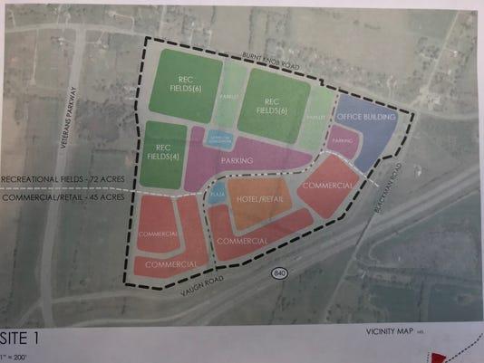 New Blackman Park plan