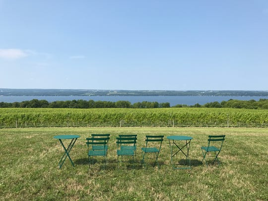 Boundary Breaks has a breathtaking view of Seneca Lake.