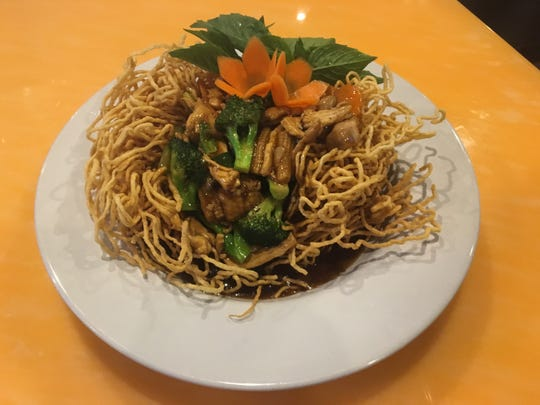 Ginger Thai Bistro in Murfreesboro serves food that