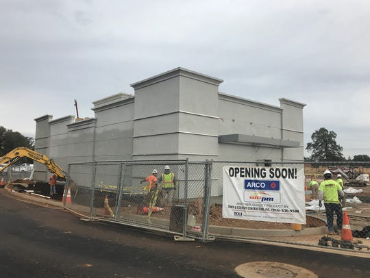 The ARCO gas station-minimart is expected to open before
