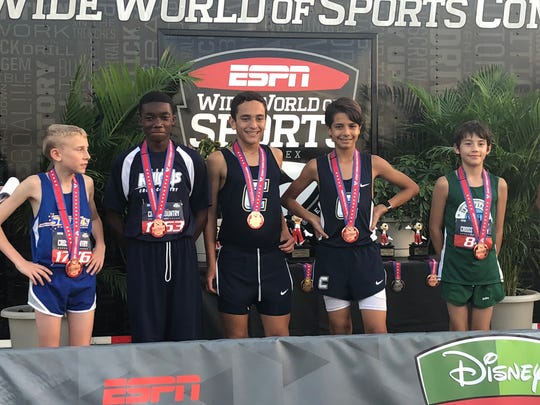 Fritz Claude, eighth-grader at Renaissance Charter of St Lucie placed ninth overall of 159 runners in his division at the Disney Cross Country Classic. The parent company of Renaissance Charter schools of St. Lucie is proposing a high school, which if approved, would open for the 2021-22 school year.