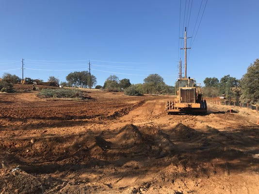 Getting land ready for homes