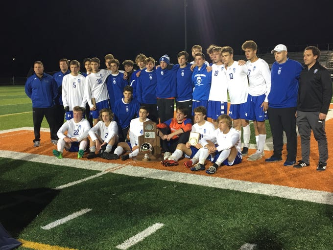 Highlands state runner-up during Highlands' 1-0 loss