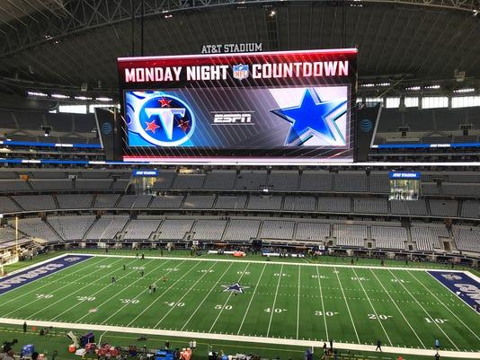 Titans at AT&T Stadium