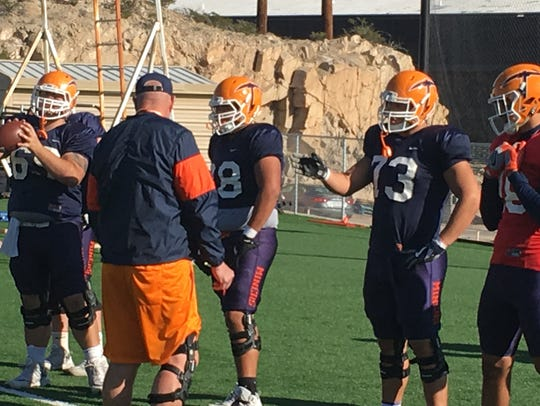 Bobby DeHaro is the only UTEP offensive lineman who