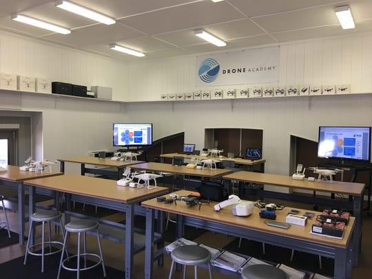Inside the NJ Drone Academy.