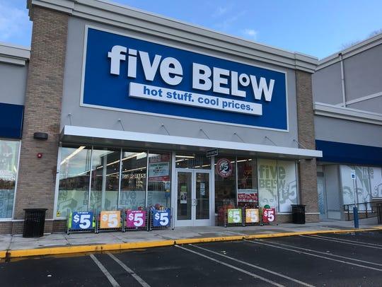 The Five Below store in Yonkers on Nov. 27, 2018.