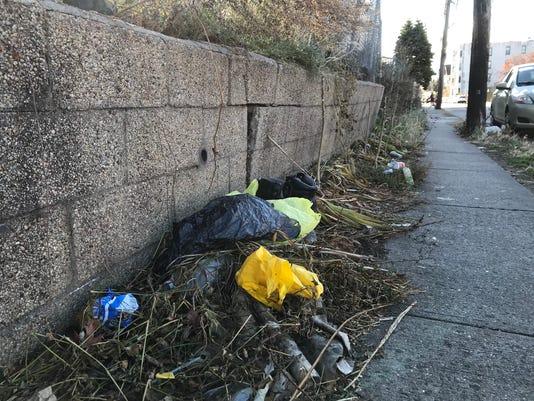 Yonkers plastic bags