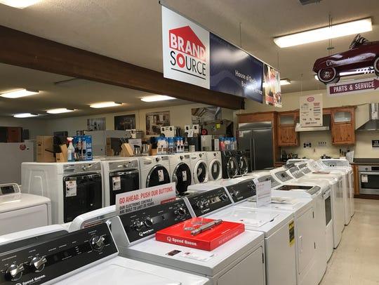 Carmona's Appliance Center co-owner Joe Heslin said