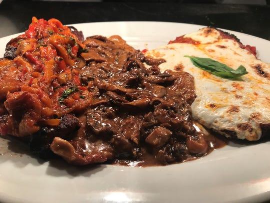 Cuisine from Steven Botta's Osteria Cucina Rustica in Marlboro.