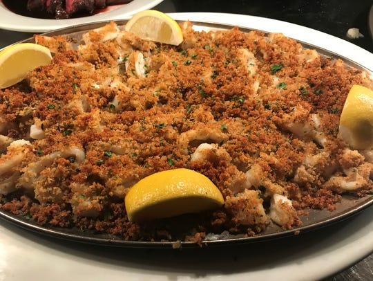 Cuisine from Steven Botta's Osteria Cucina Rustica