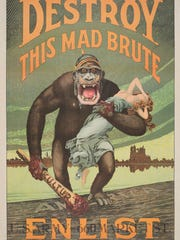 """Harry Ryle Hopps (1869-1937). """"Destroy This Mad Brute"""