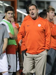 Mike Noonan has led top-five Clemson men's soccer teams in consecutive seasons. John Murphy was assistant at Clemson before taking the Anderson University head coaching position.