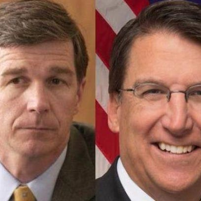 McCrory takes Cooper to task over Western Residence dog sculpture