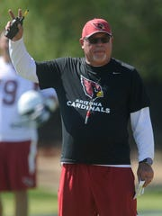 Bruce Arians, head coach of the Arizona Cardinals,