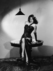 "Ava Gardner in 1946's ""The Killers,"" which screens"