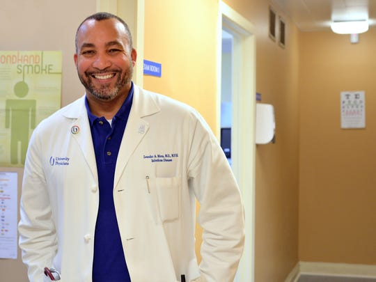 Dr. Leandro Mena is associate professor of infectious diseases at the University of Mississippi Medical Center.