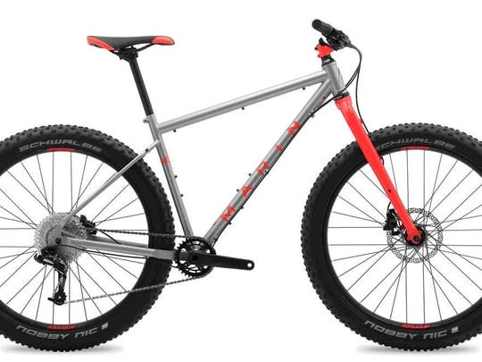 Two Marin Mountain bicycle models have rigid front forks that can bend or break during use or while jumping, causing the rider to lose control, posing fall and crash hazards to the user.