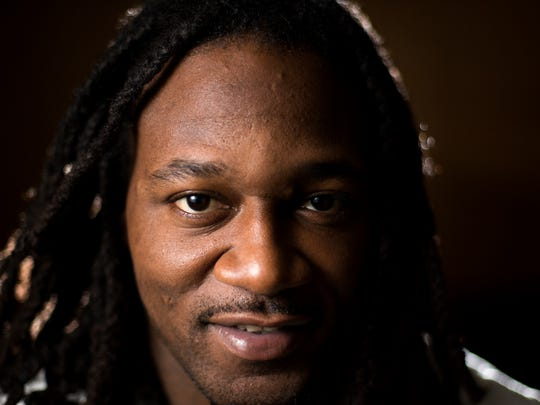 """Adam """"Pacman"""" Jones poses for a 2015 portrait during his time with the Cincinnati Bengals."""