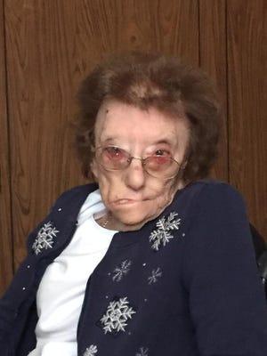 "Lavon ""Bonnie"" Hall, 90"